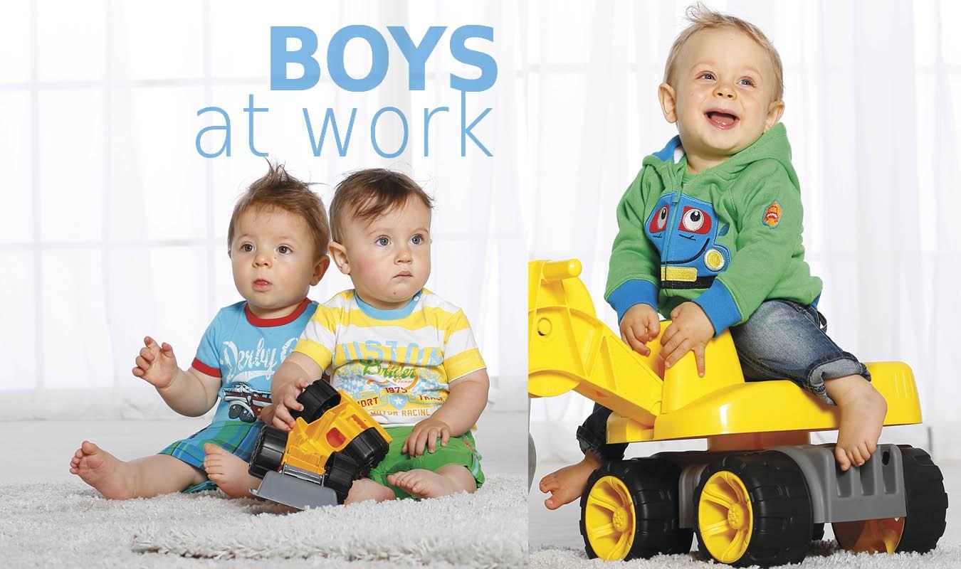 Boys at work