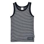 Unterhemd geringelt stripe navy/grey